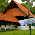 Casa de la Luz is solar powered as almost all houses in and around Matapalo