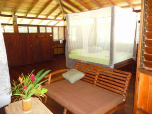 A beautiful bedroom in rental home Casa Arenosa in Matapalo on the Osa Peninsula