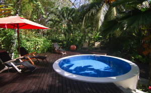 El Tumbo de las Olas, Matapalo, Costa Rica, has an outside deck, pool, bbq and lots of space to lounge