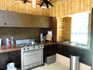 Casa Luna, rental home in Matapalo Costa Rica, features a beautiful kitchen