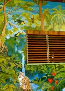 Tucan Terra Mural Matapalo Costa Rica