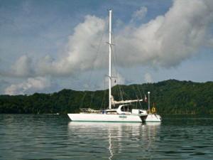 Osa Tropical offers Sailing tours around the Osa Peninsula on Haiku Sailboat