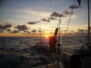 Sailing Tours on the Haiku Sailboat offered by Osa Tropical in Costa Rica