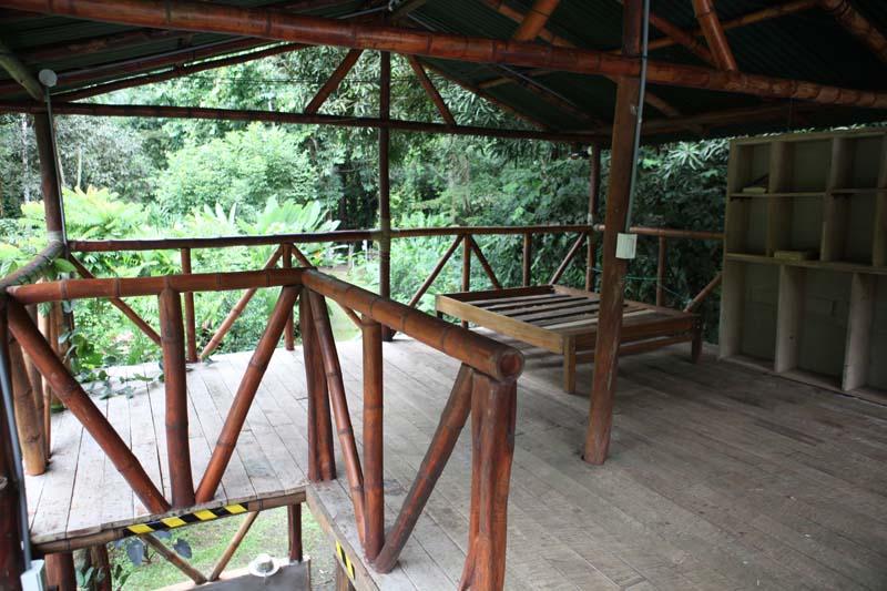 Inside a Cabina